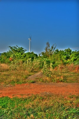 A windmill near Nagercoil