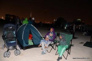 Family - Dubai Fireworks